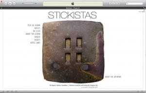 Stickistas Itunes LP