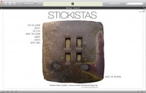 Stickistas Itunes LP